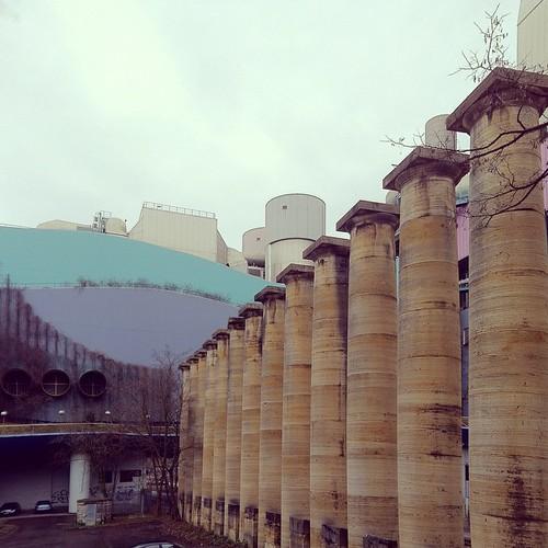#Münster #Viadukt VS #Münster #Kraftwerk @ #Stuttgart  #neu vs #alt #neualt