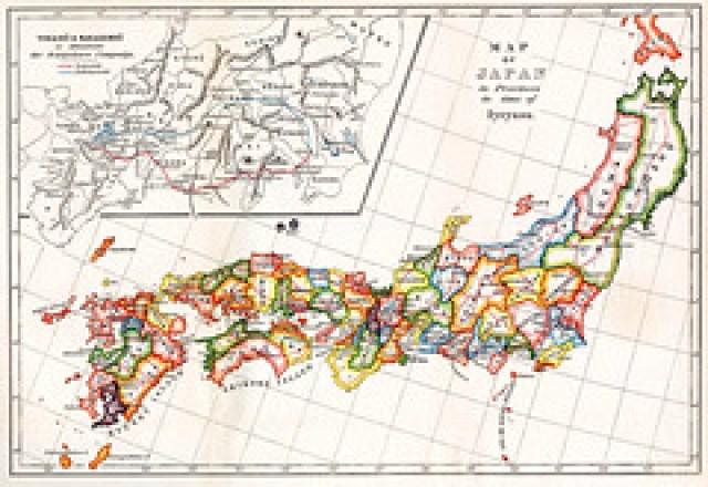 Map of Feudal Japan