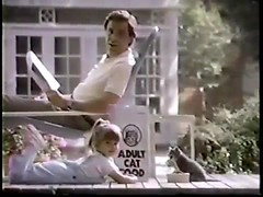 VINTAGE 80'S KITTEN CHOW COMMERCIAL W JUDITH BARSI_00000