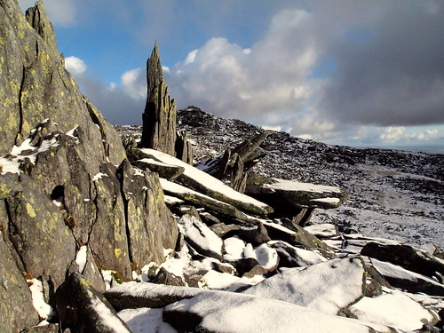 Jagged Rocks on Glyder Fawr