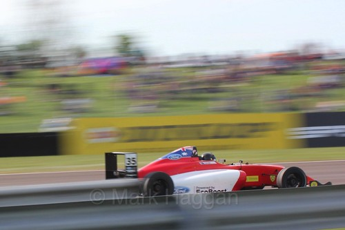 Harry Hayek in British Formula Four during the BTCC Weekend at Thruxton, May 2016