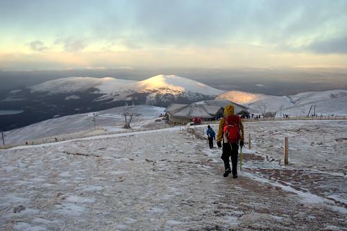 Down to the Ski Centre