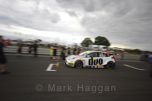 Mat Jackson's car during the Grid Walks at the BTCC 2016 Weekend at Snetterton