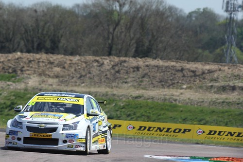 Kelvin Fletcher during the BTCC Weekend at Thruxton, May 2016