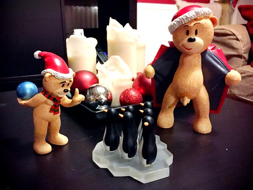 Today is all about...new Xmas Bad Taste Bears