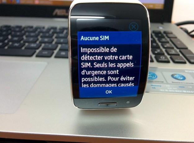 Samsung Gear S - Sim