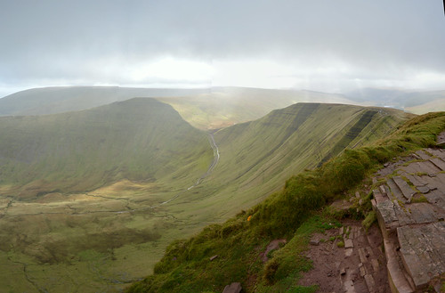 The View from Fan-Y-Byg