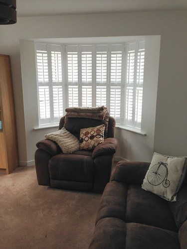 Small Bay Window Shutters, Colchester, Essex