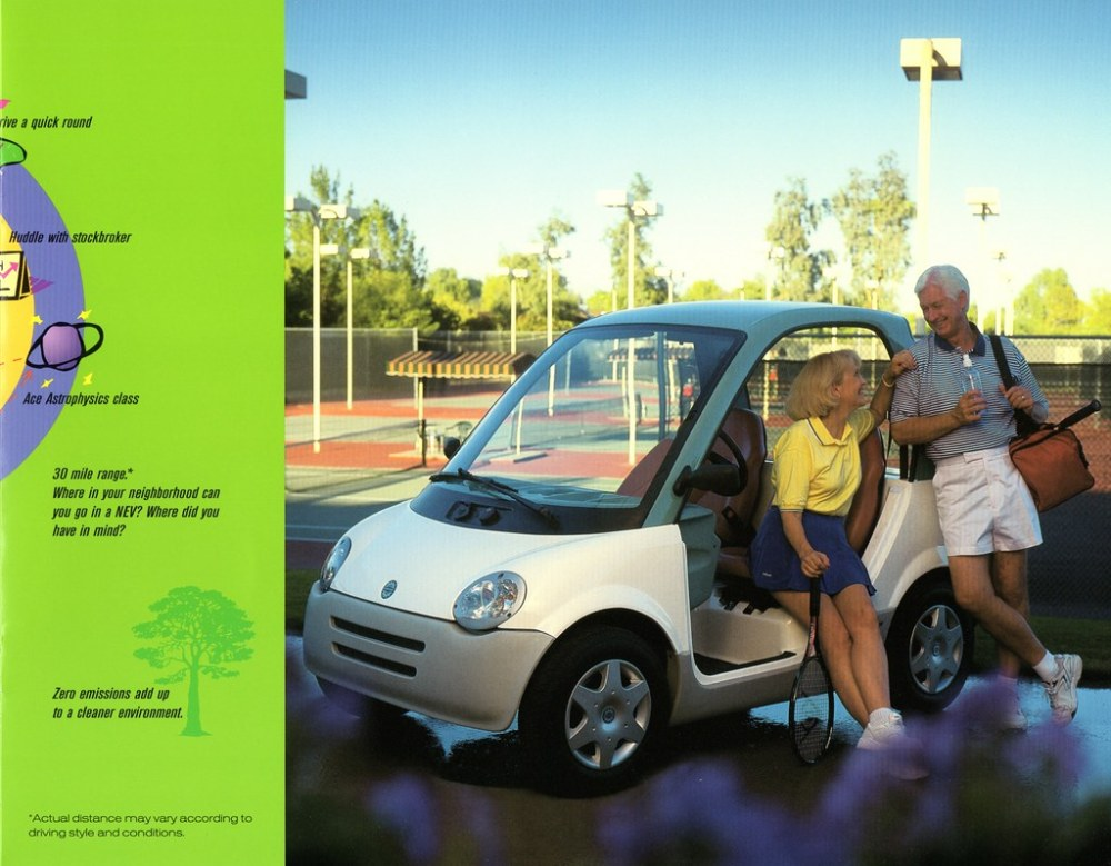 medium resolution of 1997 bombardier n e v aldenjewell tags canada electric neighborhood vehicle 1997 brochure nev bombardier