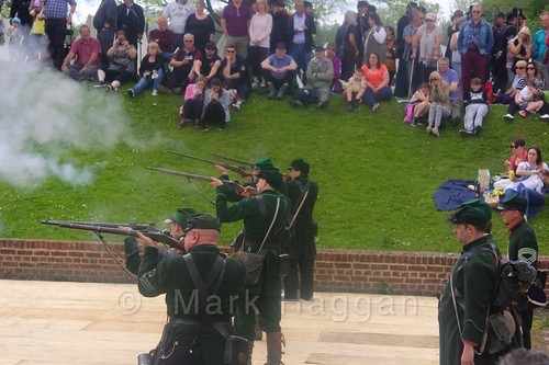 US Civil War reenactment at Moira Canal Festival 2016