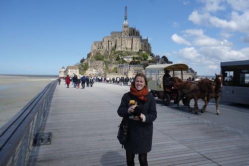 pour découvrir le mont Saint Michel !