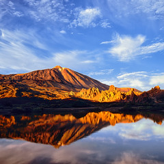 Tenerife Sunset # Hasselblad SWC & Fuji Velvia 50