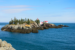 "West Quoddy Light, Canada • <a style=""font-size:0.8em;"" href=""http://www.flickr.com/photos/19514857@N00/15775323331/"" target=""_blank"">View on Flickr</a>"