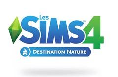 Les Sims 4 destination nature logo