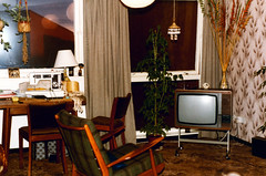 """Living room at 21, East Broomlands-1982 ps • <a style=""""font-size:0.8em;"""" href=""""http://www.flickr.com/photos/36664261@N05/15723410892/"""" target=""""_blank"""">View on Flickr</a>"""