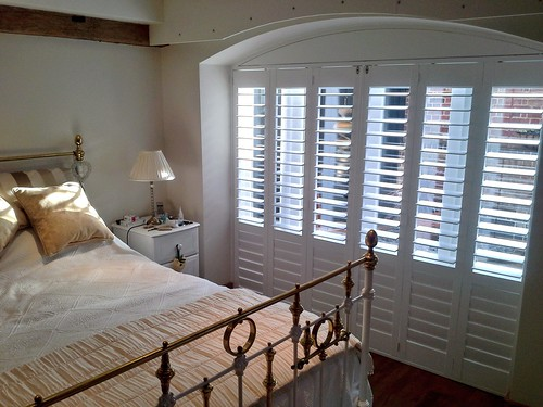Bedroom Shutters with curved top in Brightlingsea, Essex