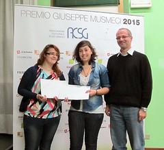 FRANCESCA NEGRO e SILVIA OCCHETTI con  Prof. MARCELLO CICOGNARA IST. ARTIGIANELLI -