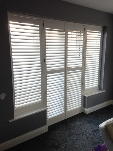 Patio Door Shutter in Little Canfield, Essex