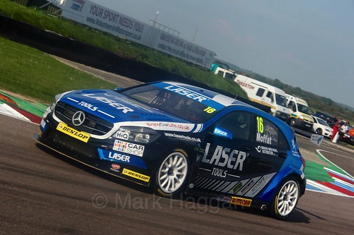 Aiden Moffatt during the BTCC Weekend at Thruxton, May 2016