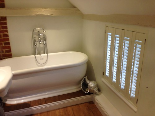 Bathroom Shutters in Period House in Halstead, Essex