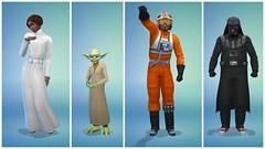 Les Sims 4 - mise à jour fantômes