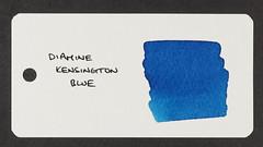 Diamine Kensington Blue - Word Card