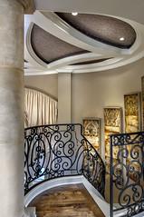 Villa Belle - ornate iron railings