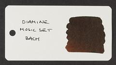Diamine Music Set Bach - Word Card