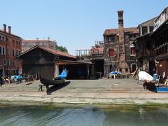 Venice - Gondola shop 1409