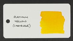 Platinum Yellow - Word Card