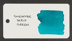 Sheaffer Skrip Green - Word Card