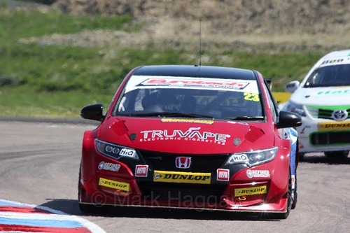 Daniel Lloyd during the BTCC Weekend at Thruxton, May 2016