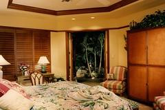 Custom Modern Home Master Suite