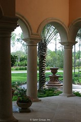 Custom Luxury Home - columns