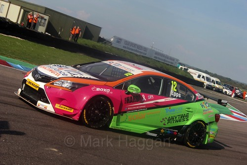 Mike Epps during the 2016 Thruxton BTCC weekend