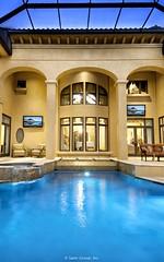 Villa Belle - custom pool