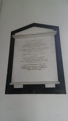 Bull family plaque