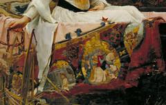 "John William Waterhouse ""The Lady of Shalott"" (detail) 1888"