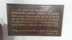 Andrew John Owen Stubbs