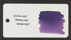 Diamine Amazing Amethyst - Word Card