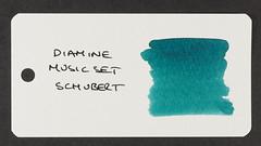 Diamine Music Set Schubert - Word Card