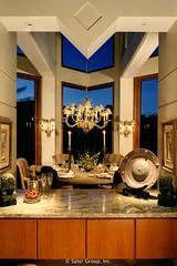 Custom Modern Home Dining Room