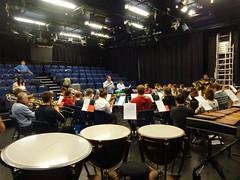 SCYB rehearsal with Richard Baker