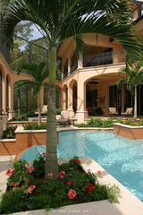 Custom Luxury Home - pool 2