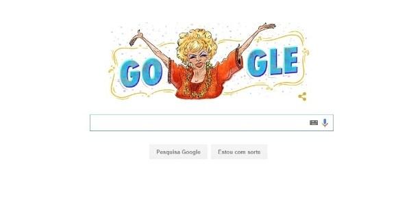 Dercy Gonçalves ganha homenagem na página inicial do Google