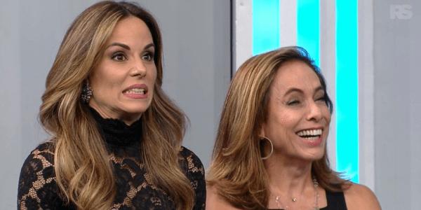 """Empolgada, Ana Furtado rouba a atenção da web com """"dancinhas"""" no Faustão"""