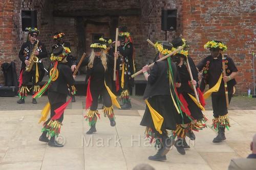 Morris Dancing at Moira Canal Festival 2016