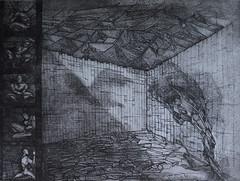 Città 2000 T- acquaforte, acquatinta, 2013