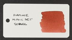 Diamine Music Set Strauss - Word Card