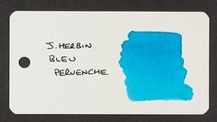 J. Herbin Bleu Pervenche - Word Card